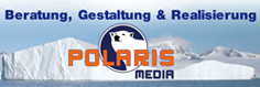 Beratung, Gestaltung und Realisierung: Polaris Media
