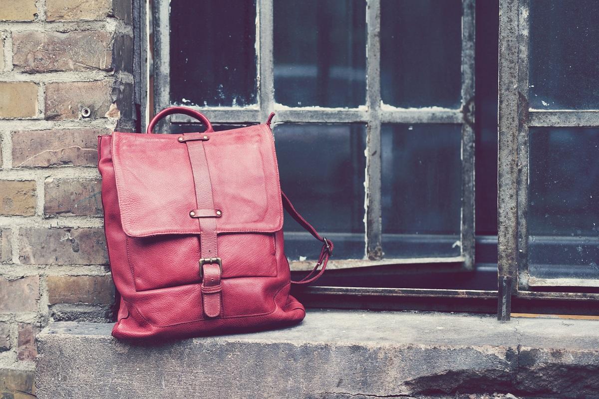 BULL&HUNT daybag-light red